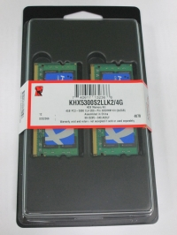 Kingston SODIMM DDR2-667 4096MB PC2-5300 Kit 2x2048MB HyperX