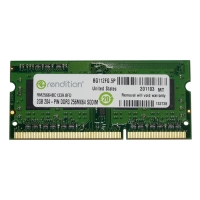 Оперативная память Crucial Micron Rendition SODIMM DDR3-1333 2048MB PC3-10600