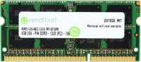 Оперативная память Crucial Micron Rendition SODIMM DDR3-1333 4096MB PC3-10600