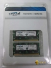 16GB (Kit 2x8Gb) 1600MHz Crucial® PC & Apple Mac • SODIMM CL=11 • Dual Volt.1.35/1.5V • Mac Certified